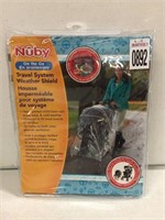 NUBY TRAVEL SYSTEM WEATHER SHIELD
