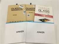 ASSORTED TEMPERED GLASS