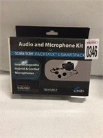 AUDIO AND MICROPHONE KIT