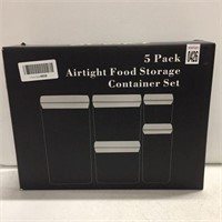 5 PACK AIRTIGHT FOOD STORAGE
