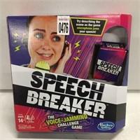 SPEECH BREAKER CHALLENGE GAME