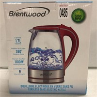 BRENTWOOD GLASS ELECTRIC KETTLE