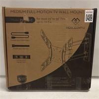 MEDIUM FULL-MOTION TV WALL MOUNT
