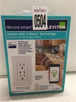 LEVITON OUTLET WITH Z-WAVE