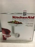 KITCHENAID STAND MIXER (FOOD GRINDER ATTACHMENT)