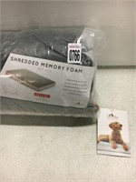 SHREDDED MEMORY FOAM PET BED