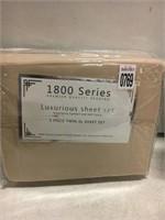 LUXURIOUS SHEET SET 3 PIECE TWIN XL