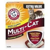 ARM&HAMMER MULTI-CAT LITTER 18KG