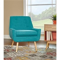 ACCENT CHAIR IN BRIGHT BLUE