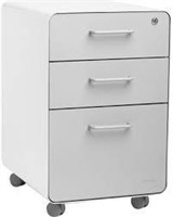 POPPIN 3-DRAWER VERTICAL FILE CABINET