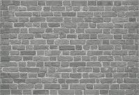 BRICK WALL BLACK REPEAT PATTERN