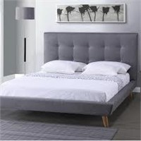 BAXTON STUDIO QUEEN BED (NOT ASSEMBLED/2 BOXES)