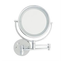 DANIELLE 5X ADJUSTABLE WALL MOUNT MIRROR
