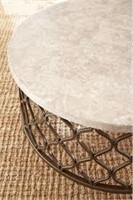 """STEVE SILVER MARBLE TABLE TOP 36"""" ROUND"""