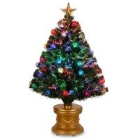 NATIONAL TREE 36 INCH CHRISTMAS TREE WITH