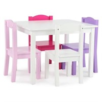TOT TUTORS TABLE AND 4 CHAIRS