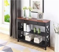 OXFORD 1-DRAWER CONSOLE TABLE(NOT ASSEMBLED)