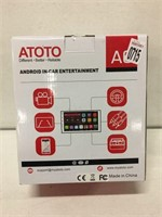 ATOTO ANDROID IN-CAR ENTARTAINMENT