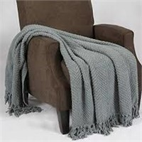 "SET OF 2 DECORATIVE THROW BLANKET 50 X 60"" EACH"