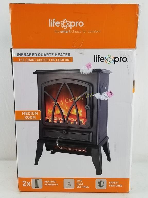 Life Pro Infrared Quartz Heater Medium Room 2nd Cents Inc