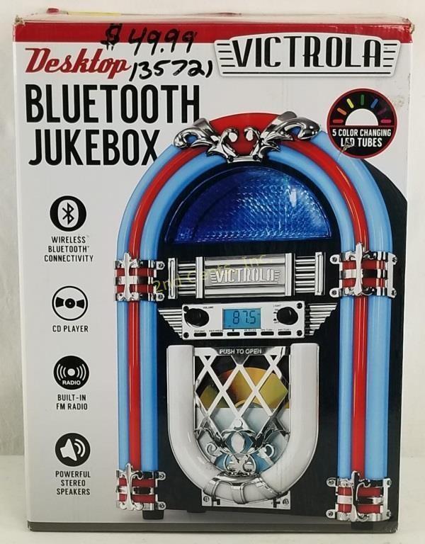 Victrola Desktop Bluetooth Jukebox Great | 2nd Cents Inc