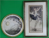 2 EARLY 20TH C. ARTIST SIGNED LITHOGRAPHS, ICART