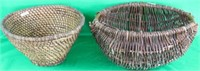 2 OLD BASKETS INC. COIL WORK, MEAS. APPROX..