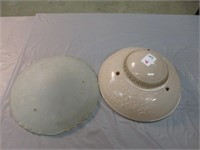 2-Glass Bowl Ceiling Shades