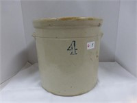 4 Gallon Crock w/Handles