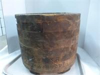 """Wooden Pulley 14 1/2"""" diameter x 11"""""""