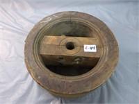 """Wooden Pulley 11 1/2"""" diameter x 4 3/4"""""""