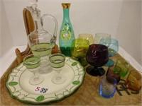 Collectable Glassware Lot (See Description)