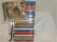 29 CD's Easy Listening and Christmas