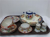 14pcs Glass and China (See Description)