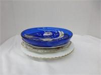5pcs Plates and Dish (See Description)