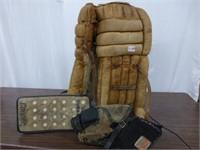 Vintage CCM Goalie pads/blocker/trapper
