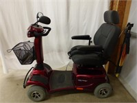 Invacare-Auriga 4 Wheel Mobility Scooter (con't)