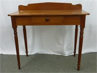 Wooden Desk/Table w/Drawer and Backboard