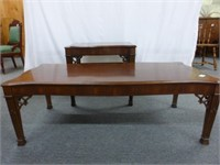 Set of Coffee and End Table (Fancy Corners)