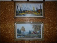 2-Scenic Oil Paintings (Con't)