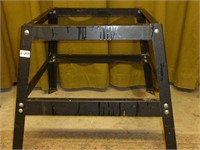 Black Metal Work Stand for Shop