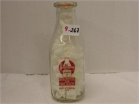 Healthway Dairy Quart Bottle Ford Atkinson Wisc.