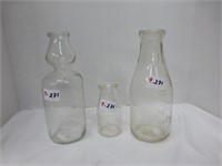 Purity Products Bottle, Plain Cream Top, Michigan