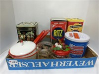 Graniteware, Schneiders Pig Tail Tin, and More