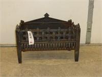 "Cast Fireplace Wood Box 22 1/2"" x 10"""