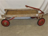 Childs Wooden Wagon