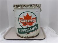 Supertest 5 Gallon Tin Pail w/lid