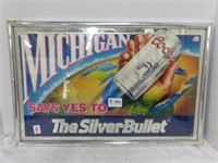 """Michigan """"Coors Light"""" The Silver Bullet Picture"""