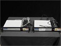 2 Idirect 3000 series satellite router