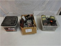 hardware and hot glue